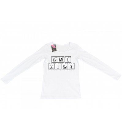 Majica bijela - Bemti Virus