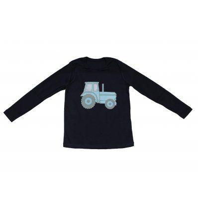 Majica tamno plava - Traktor