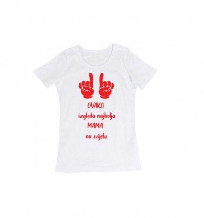 Majica bijela - Ovako izgleda...