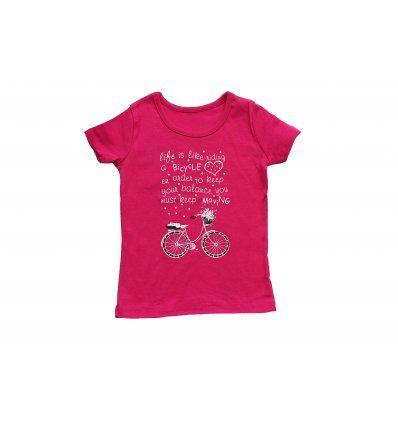 Majica roza - Bicikl