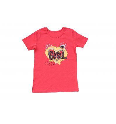 Majica boje breskve - Girl