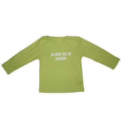 Baby majica kivi-kuma mi je zakon