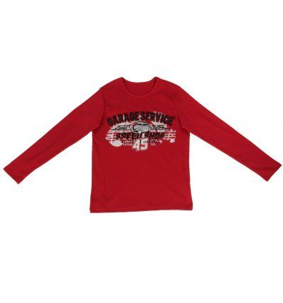 Majica crvena - auto