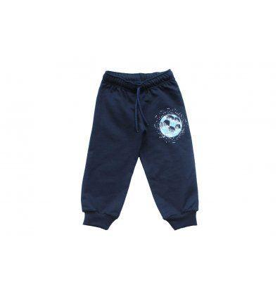 Baby hlače tamno plave lopta