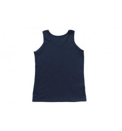 Majica bez rukava tamno plava