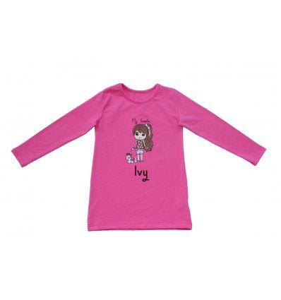 Tunika A kroja roza Ivy
