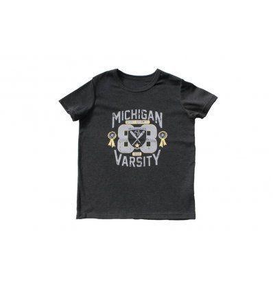Majica tamno siva melanž Michigan