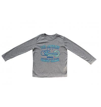 Majica siva melanž - Baseball