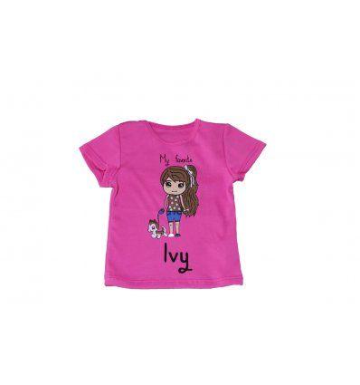 Baby majica roza IVY