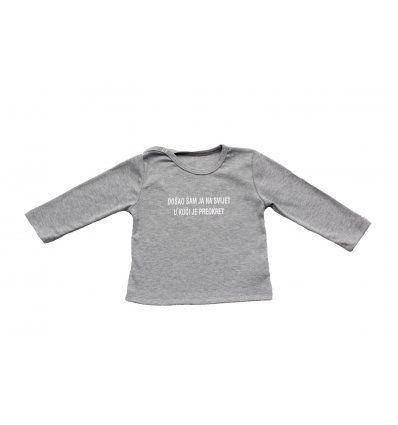 Baby majica siva melanž - Preokret