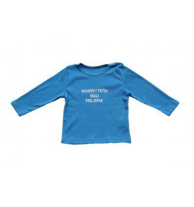 Baby majica svjetlo plava - Priljepak
