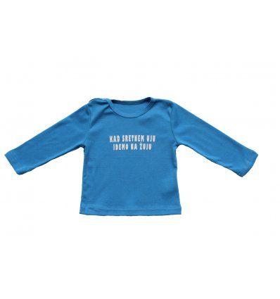 Baby majica svjetlo plava - Ujo