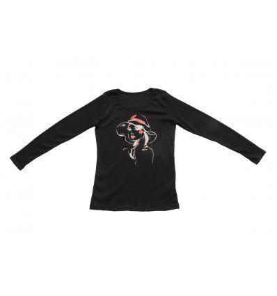 Majica uska crna - Djevojka