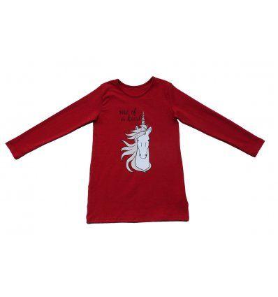 Tunika A kroja crvena - Jednorog