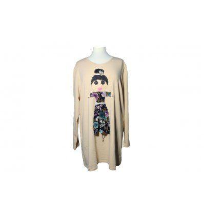 Žene - Tunike i haljine - Tunika A kroja sa lutkicom - ružice