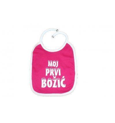 Bebe - Podbradnici - Podbradnik rozi 'Moj prvi Božić'