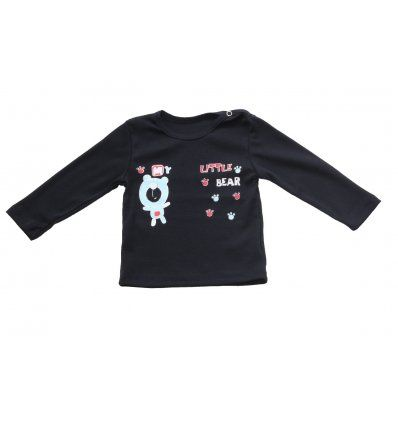 Bebe - Majice dugi rukav - Baby majica tamno plava - My little bear