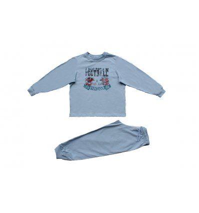 Dječaci - Pidžame - Pidžama svjetlo plava - American Football