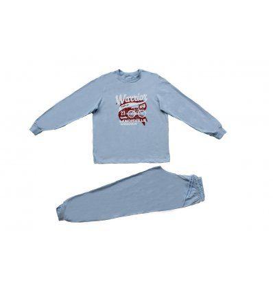 Dječaci - Pidžame - Pidžama svjetlo plava - Warrior