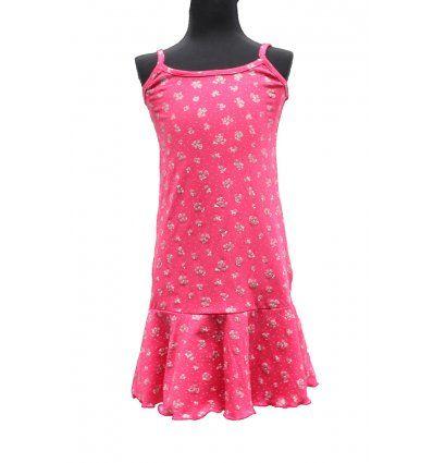 Djevojčice - Minice i haljine - Haljina sa volanom - cvjetići