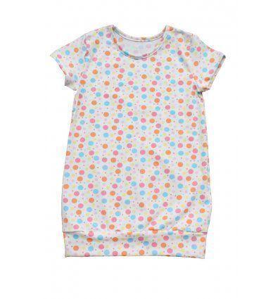 Djevojčice - Tunike - Tunika sa pasicom - šarene točkice