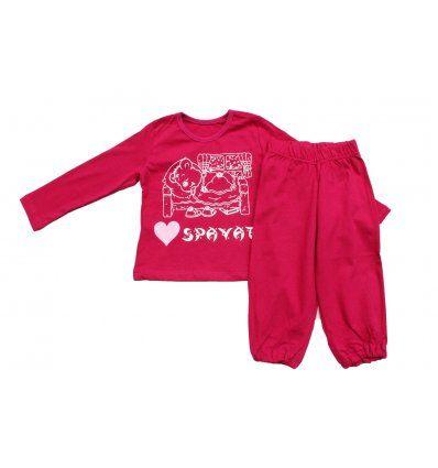 Djevojčice - Pidžame i spavaćice - Pidžama pinky - medo