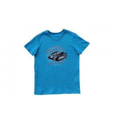 Dječaci - Majice kratkih rukava - Majica svjetlo plava - Muscle car