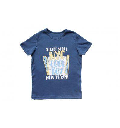 Dječaci - Majice kratkih rukava - Majica plava - Cool boy