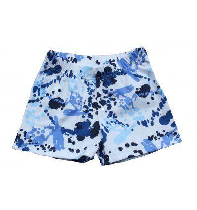 Djevojčice - Bermude, bicke i tajice capry - Bicke watercolor plave