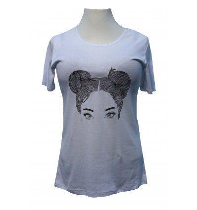 Žene - Majice kratkih rukava - Majica bijela - Cura