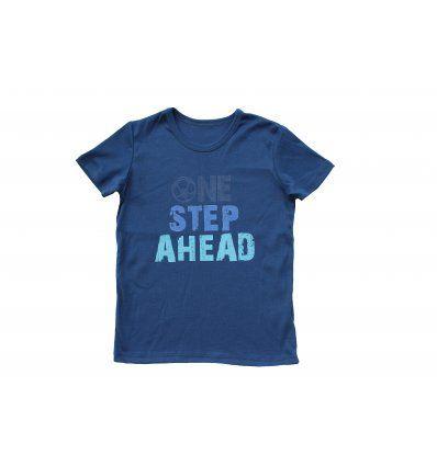 Dječaci - Majice kratkih rukava - Majica traper plava - kratkih rukava - One step ahead