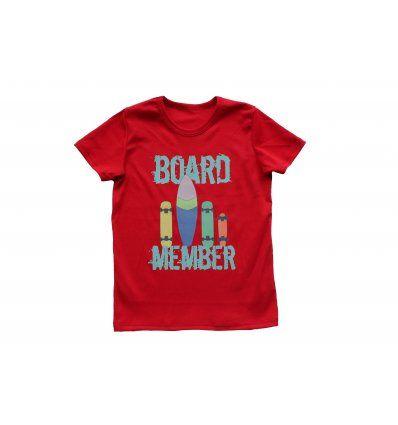 Dječaci - Majice kratkih rukava - Majica crvena - kratkih rukava - Board member