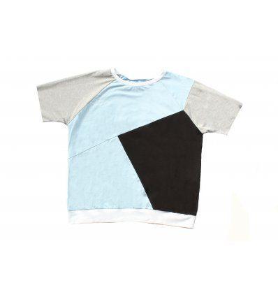 Ivy - Majice2 - Majica ivy muška asimetrična - kratki rukavi