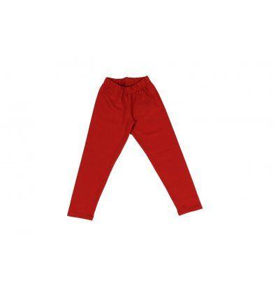 Djevojčice - Donji dijelovi trenirke i tajice - Tajice deblje crvene