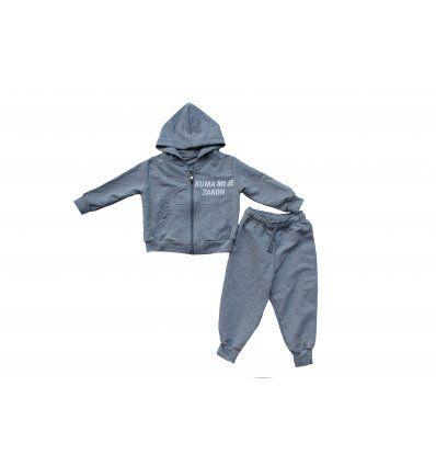 Bebe - Kompleti - Baby komplet svijetlo sivi Kuma mi je zakon