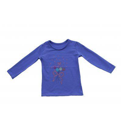 Bebe - Majice dugih rukava - Majica svijetlo ljubičasta - Baloni