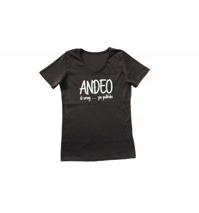 Žene - Majice kratkih rukava - Majica crna - Anđeo ili vrag