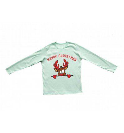 Dječaci - Majice dugih rukava - Majica svijetlo kiwi - Rudolf