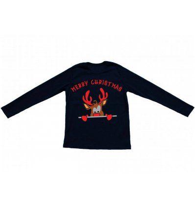 Dječaci - Majice dugih rukava - Majica tamno plava - Rudolf