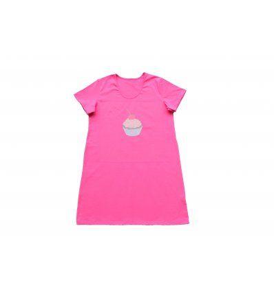 Žene - Pidžame i spavaćice - Spavaćica pinky roza - Muffin