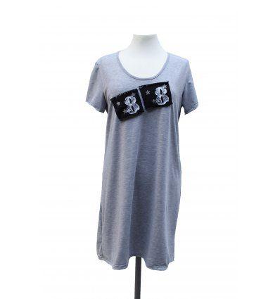 Žene - Tunike i haljine - Haljina svijetlo siva - 88