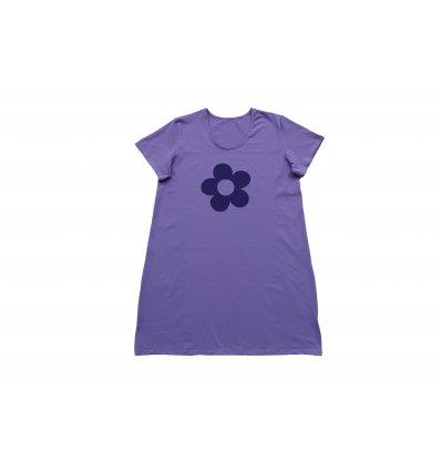 Žene - Pidžame i spavaćice - Spavaćica pastelno ljubičasta - Cvijet