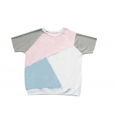 Djevojčice - Majice kratkih rukava - Majica ivy asimetrična - kratki rukavi