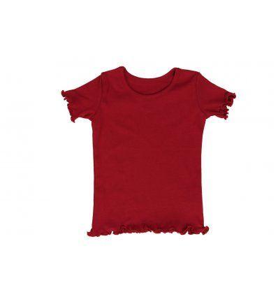 Djevojčice - Majice kratki rukav - Majica crvena