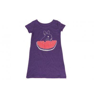 Djevojčice - Pidžame i spavaćice - Spavaćica ljubičasta zeko