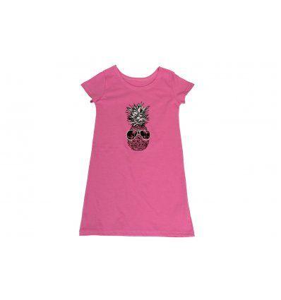 Djevojčice - Pidžame i spavaćice - Spavaćica roza ananas