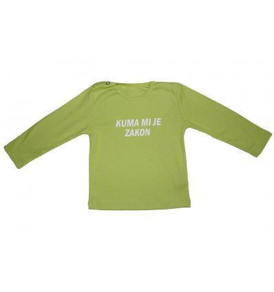 Bebe - Majice dugi rukav - Baby majica kivi-kuma mi je zakon