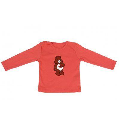 Bebe - Majice dugi rukav - Baby majica breskva - medo