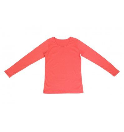 Djevojčice - Majice dugih rukava - Majica uska breskva