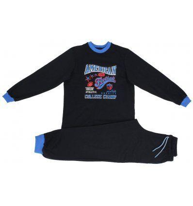 Dječaci - Pidžame - Pidžama tamno plava - American football